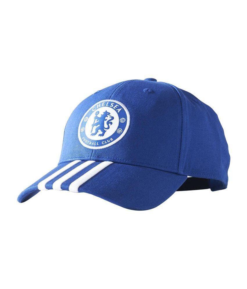 Adidas Blue Cotton Football Cap