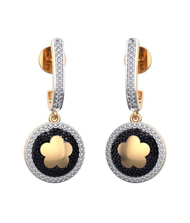 I Love Diamonds 18kt Gold Spinel Earrings