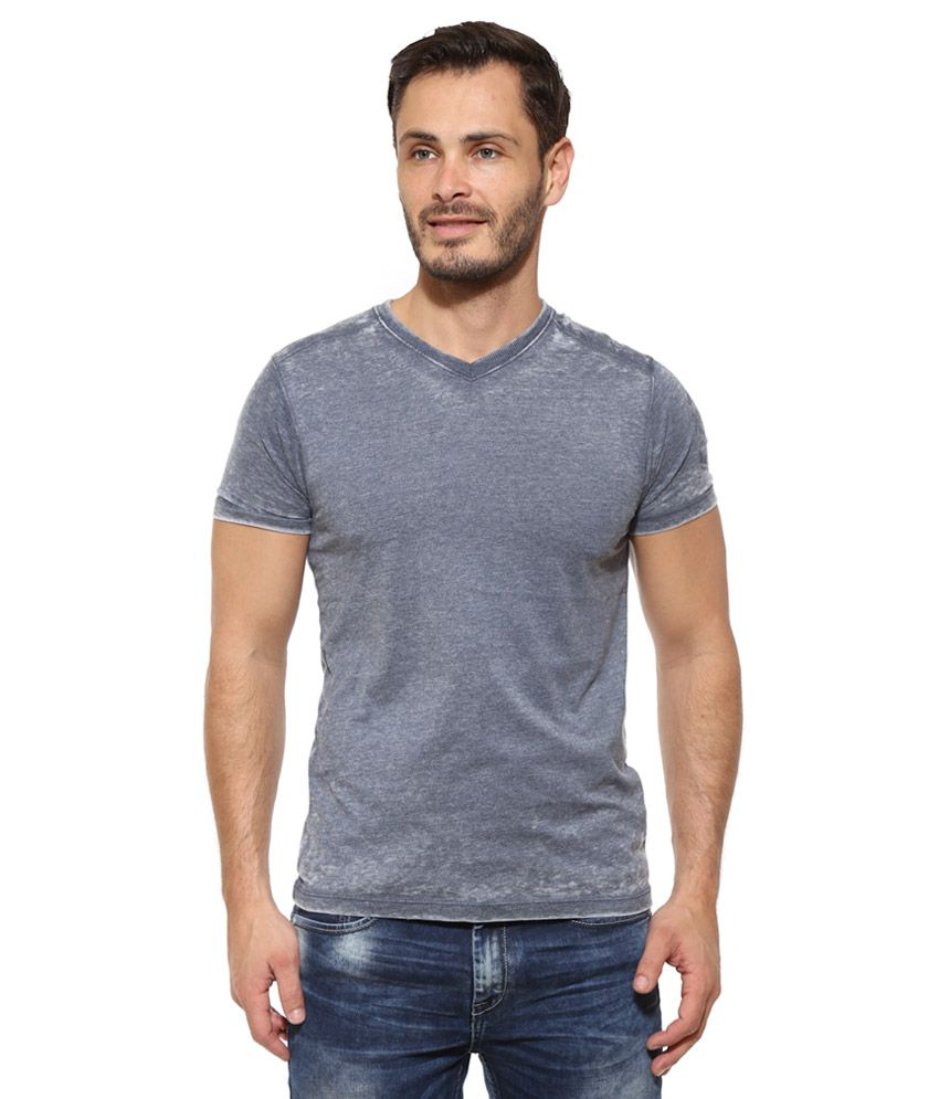 Pepe Jeans Blue Solid T-Shirt