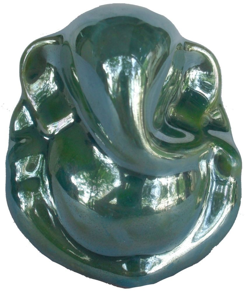Sheela's Arts & Crafts Green Ceramic God Idol