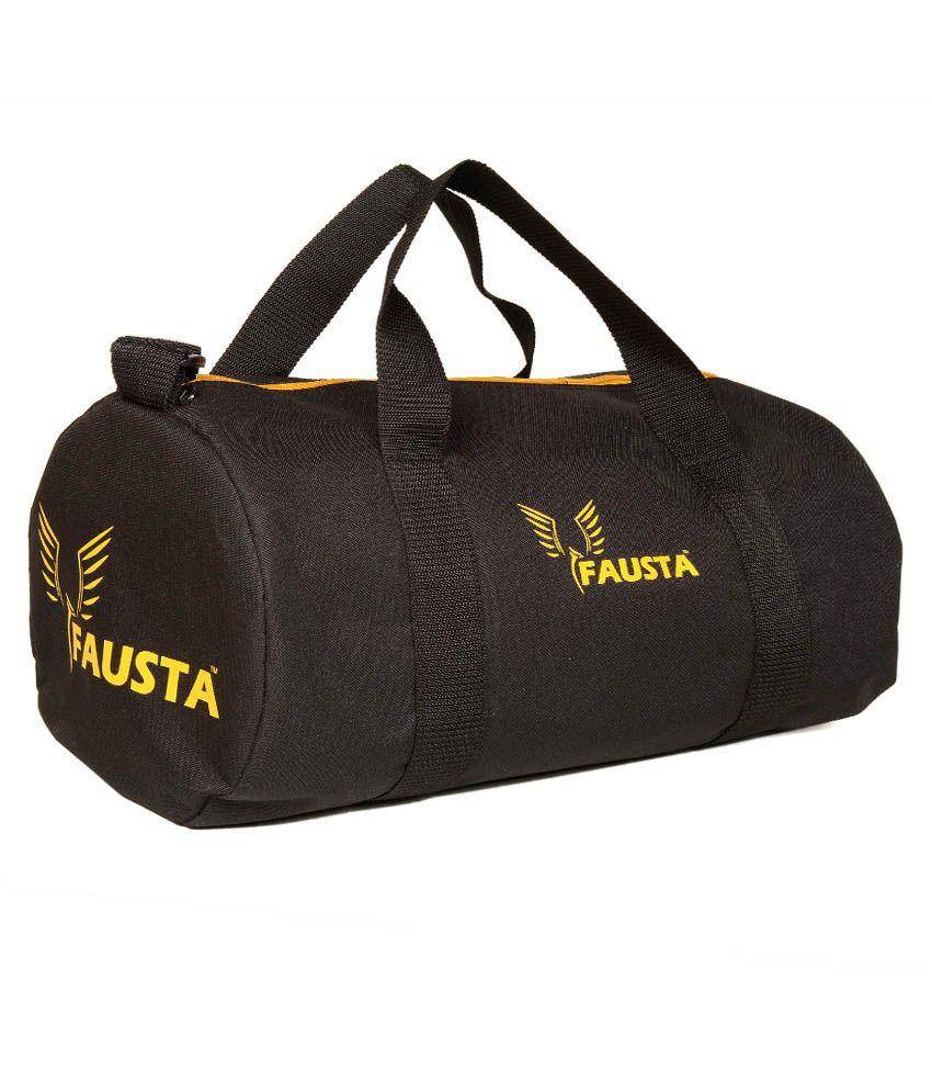 Fausta Black  Gym Bag