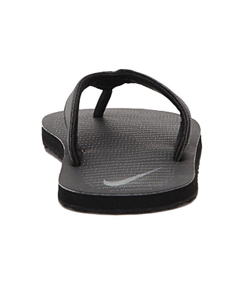 super popular ffa2e 88acc Nike Black Slippers Art AN833808001