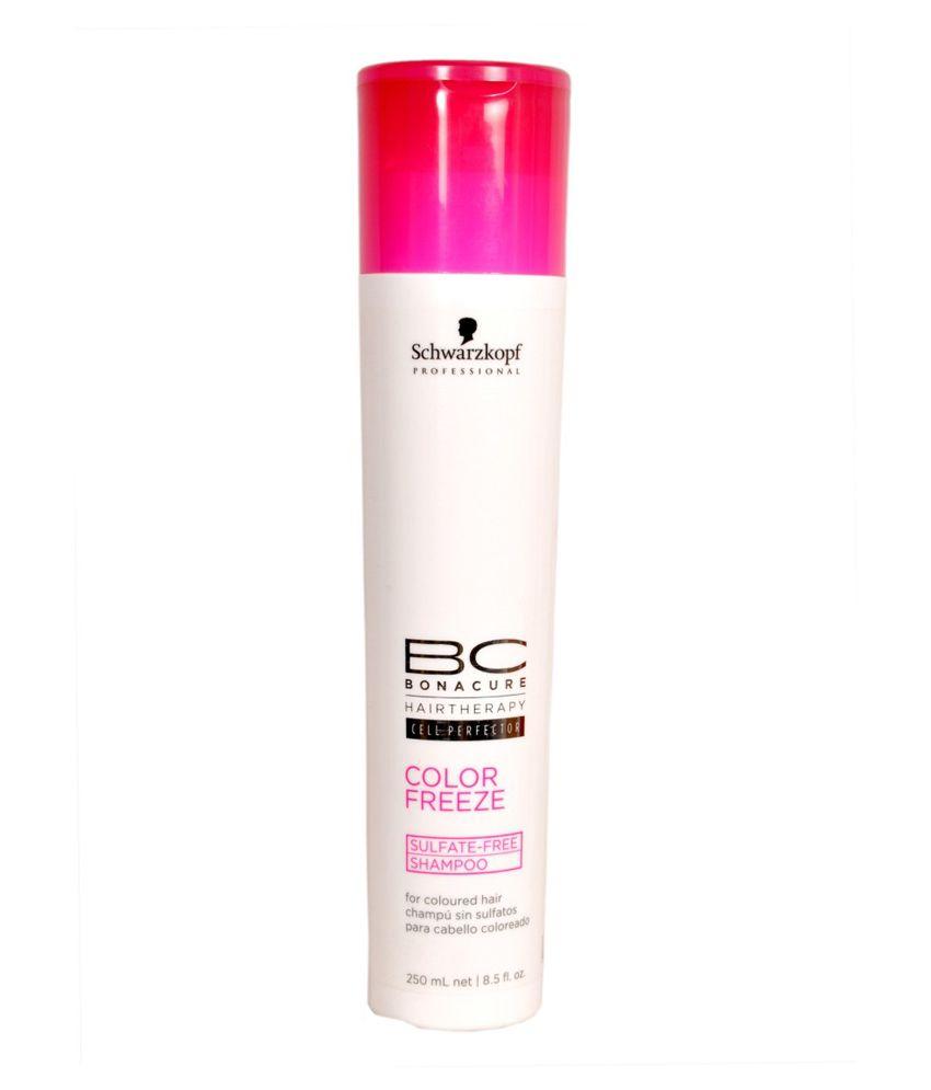 Schwarzkopf Color Freeze Sulfate Free Shampoo 250 Ml Buy