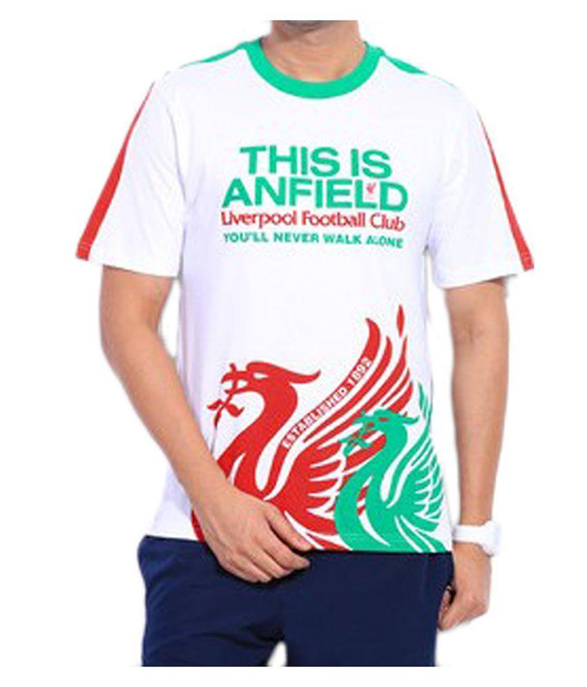 Liverpool F.C. T Shirt Mens ANFIELD TEE