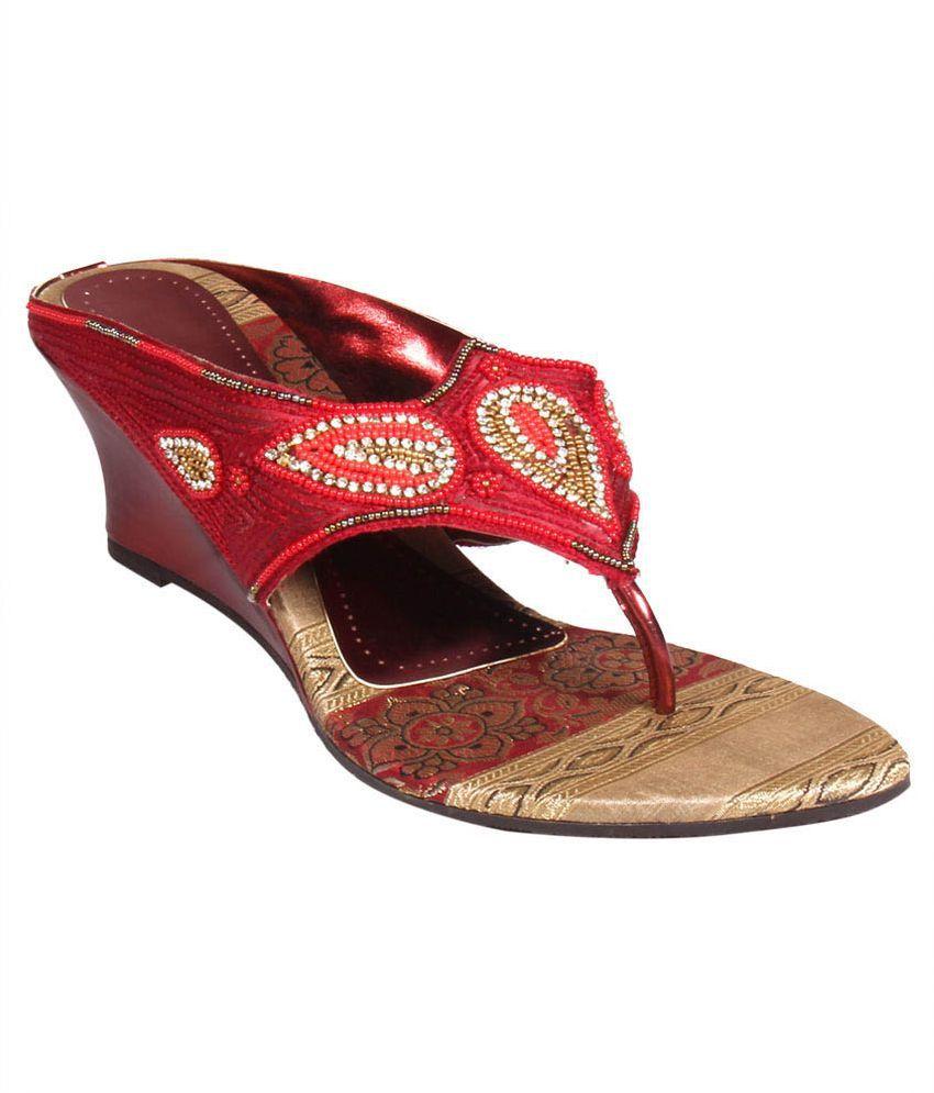 Sanlee Maroon Heels