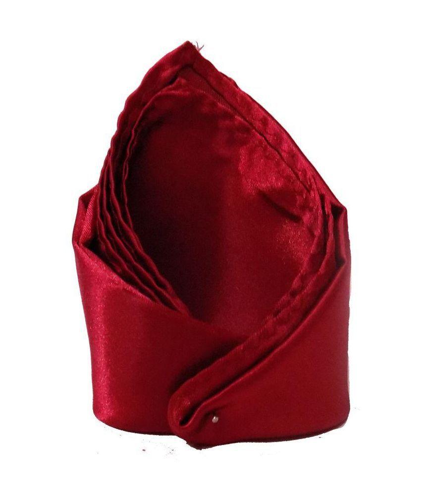 Forty Hands Red Men Pocket Square