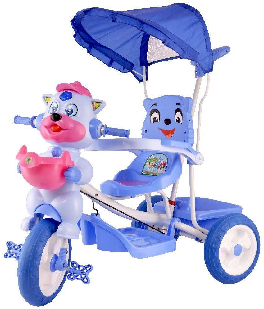 Love Baby Blue Tricycle Trike Cycles For Baby Kids Boys