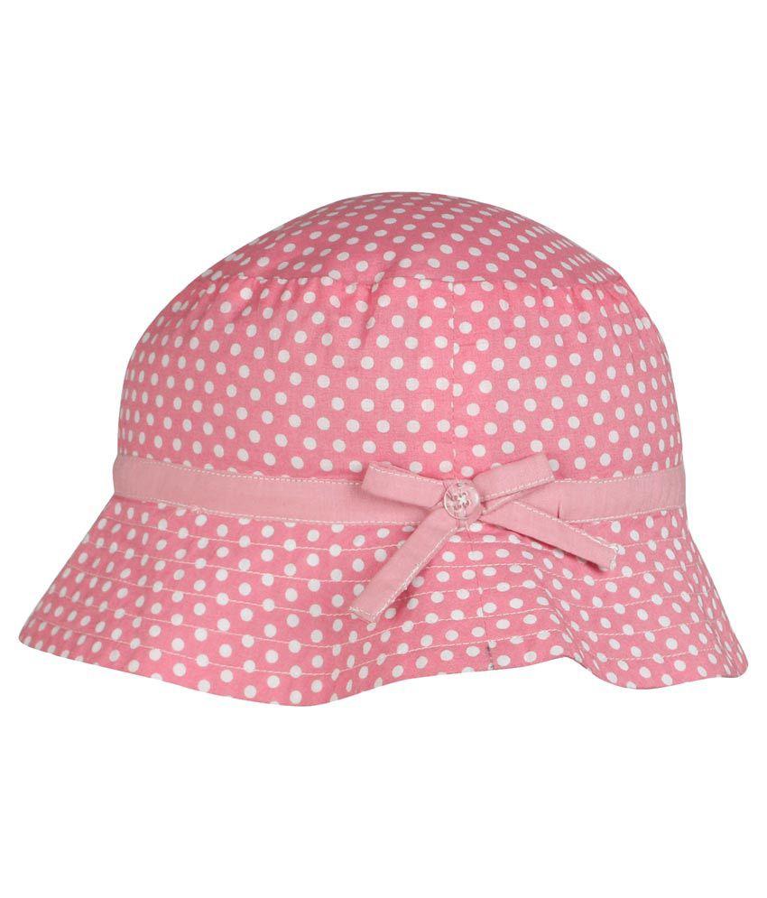 Nino Bambino Pink Cotton Fidora Hat