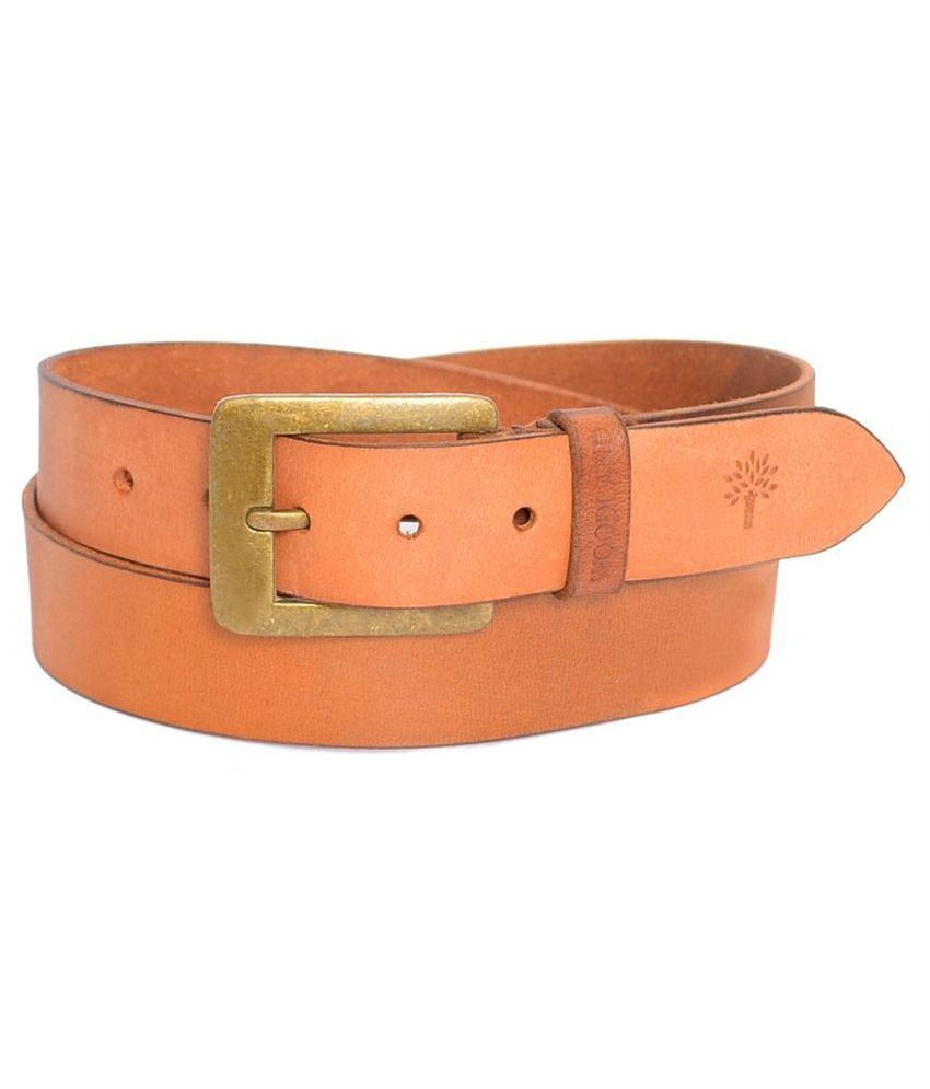 b920f4f8e Woodland Tan Leather Casual Belt for Men Art NBT1035041TAN  Buy Online at  Low Price in India - Snapdeal