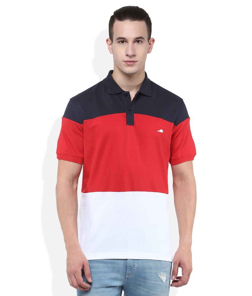 2Go Red Polo T-Shirt