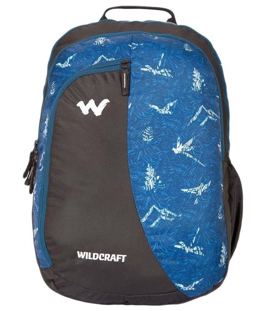 60fab1d32893 Wildcraft NATURE 3 Blue 33 ltrs Polyester Casual Backpack - Buy Wildcraft  NATURE 3 Blue 33 ltrs Polyester Casual Backpack Online at Low Price -  Snapdeal