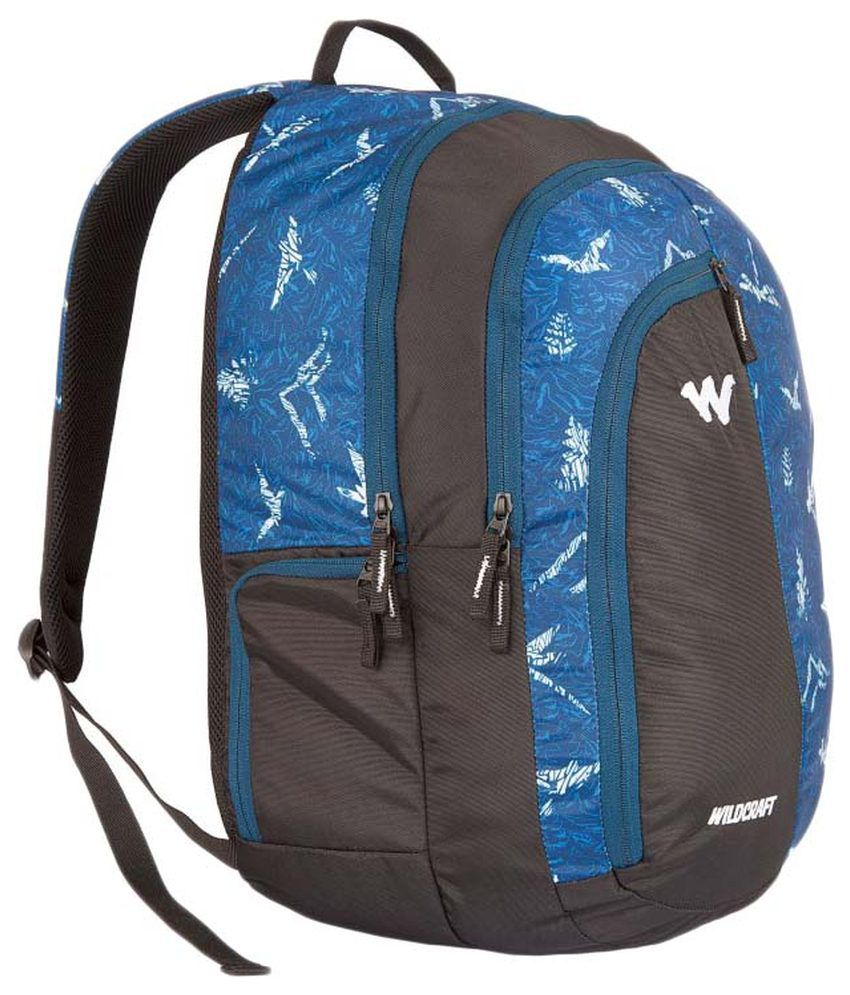 63bc9b813b48 Wildcraft NATURE 3 Blue 33 ltrs Polyester Casual Backpack - Buy ...