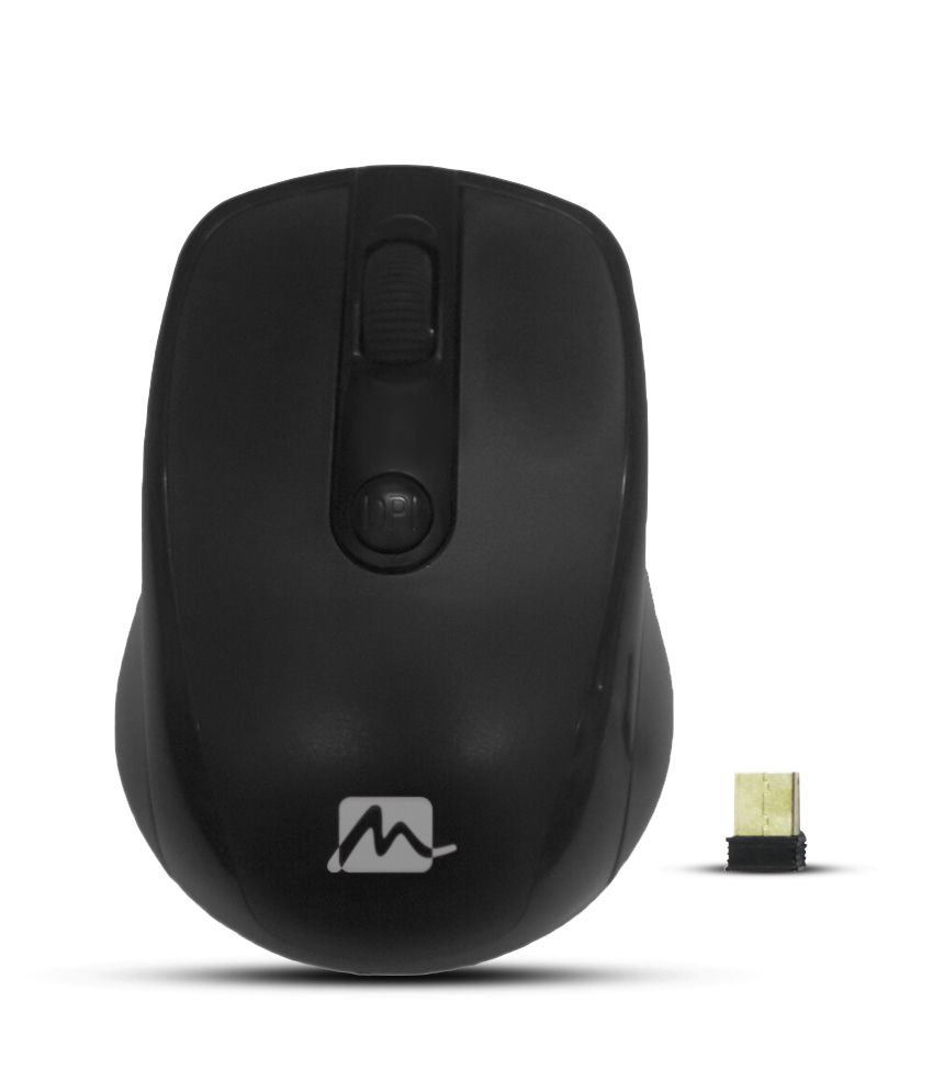 Mercury Mw 310 Wireless Mouse Black