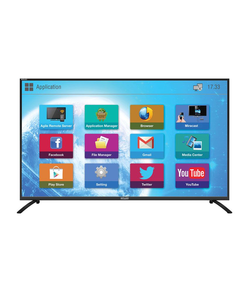 Mitashi MiDE065v22 165 cm (65) Smart Full HD (FHD) LED Television with FREE Air mouse and 3 years warranty