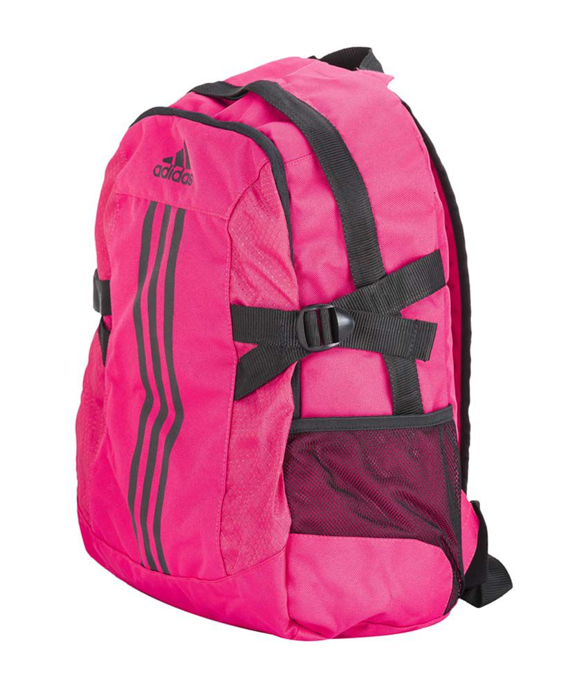 Adidas BpPower2 Pink 22 Polyester Casual Waterproof Backpack - Buy ... c0a0731a8c827