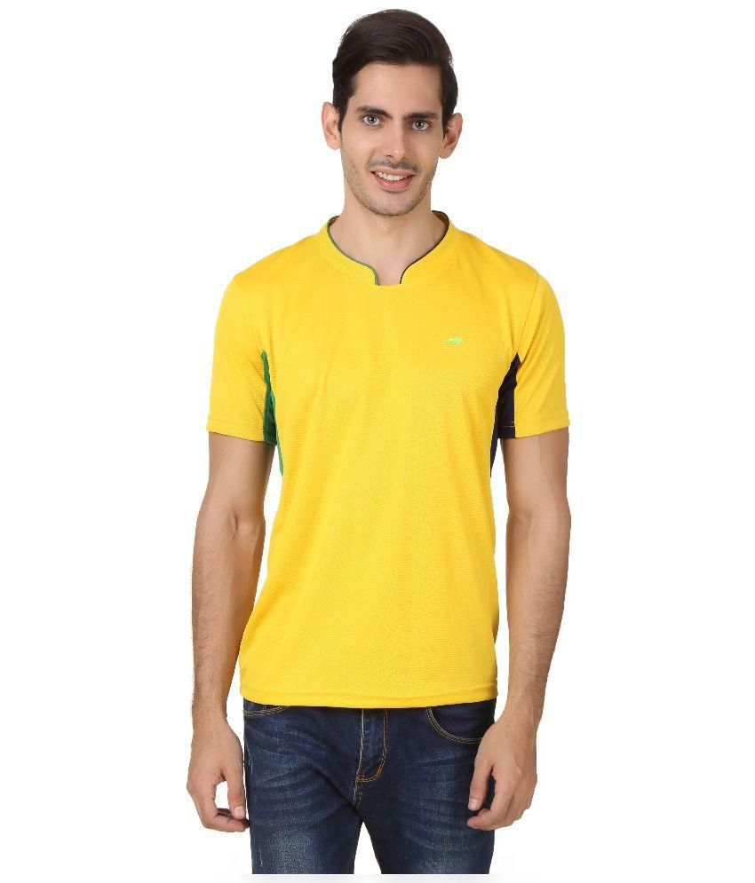 2go Yellow Round T Shirt