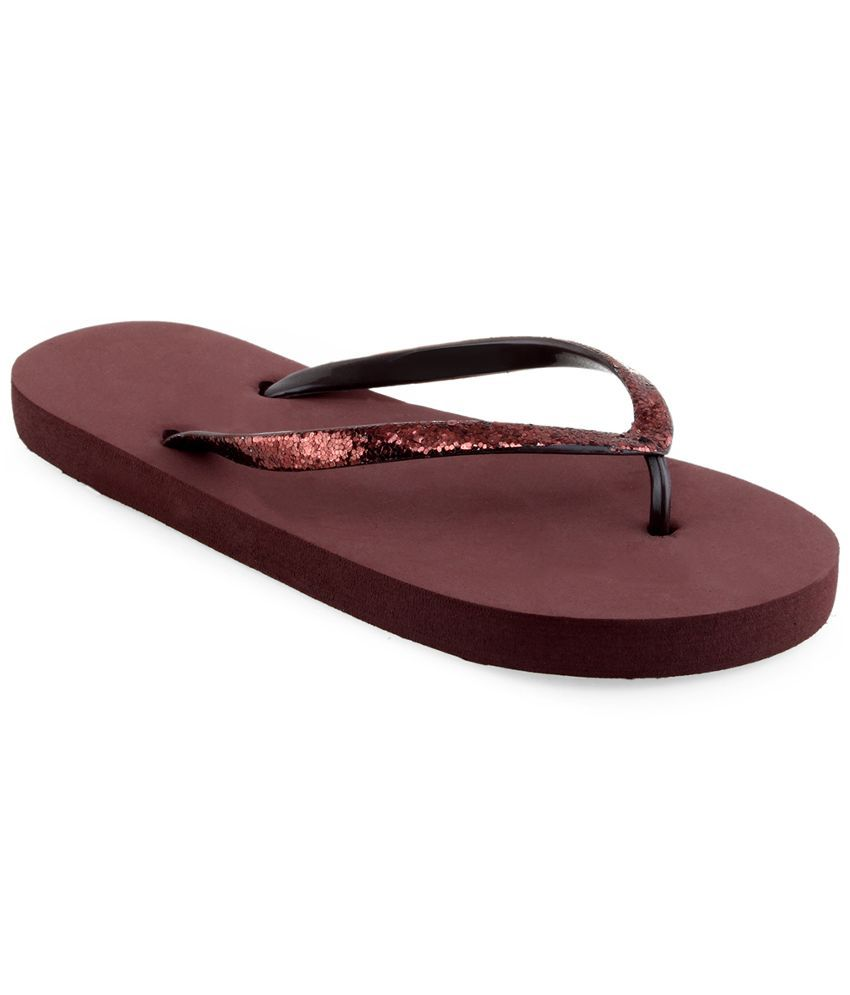 Shoe Lab Brown Slippers