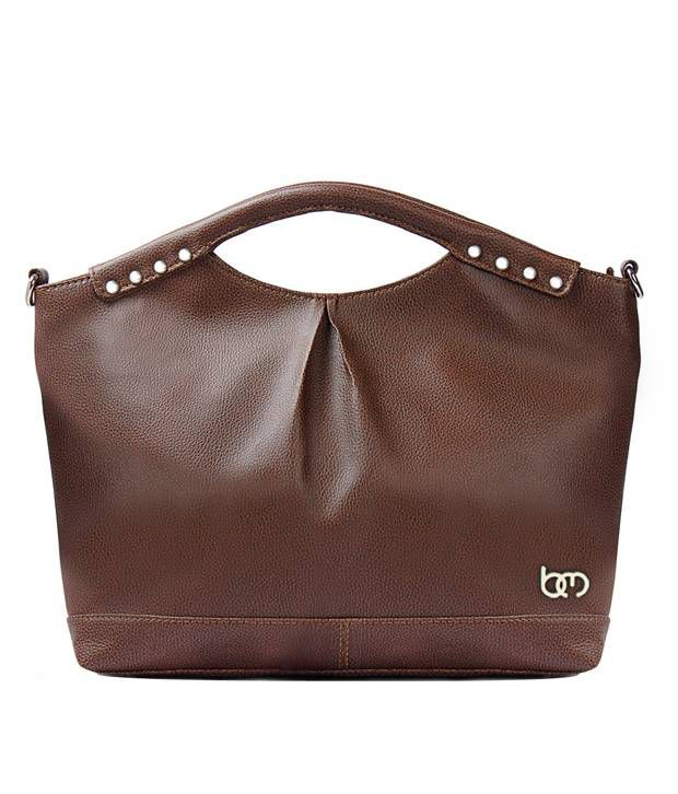 Bagsy Malone Choco Brown Handbag-Brown