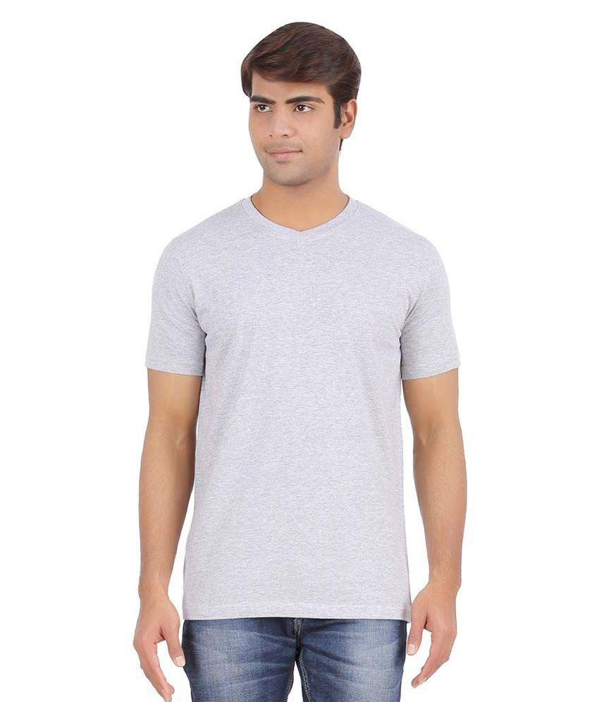 Forever Young Clothing Grey V-Neck T Shirt
