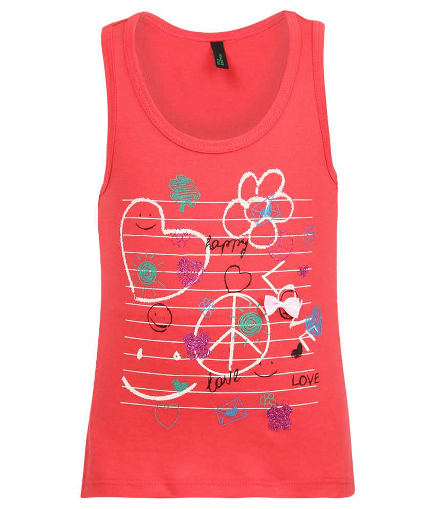 United Colors of Benetton Red Tops