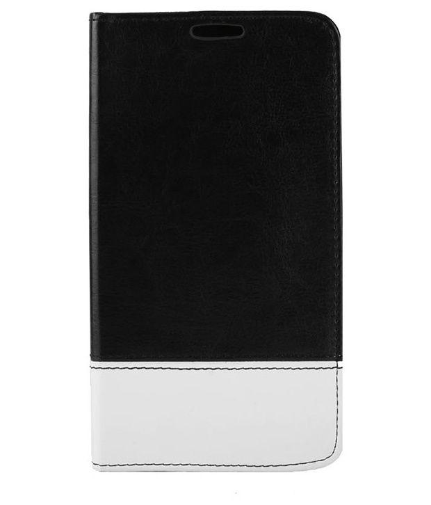 RKA Flip Cover For Apple iPhone 5 5S   Black