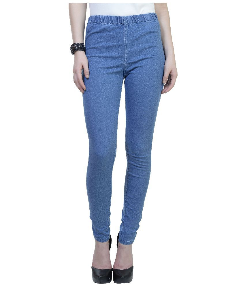 Urban Studio Blue Denim Jeggings