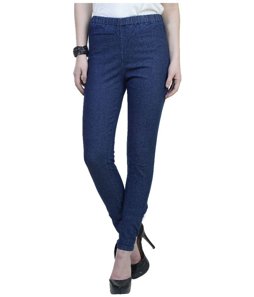 Urban Studio Navy Denim Jeggings
