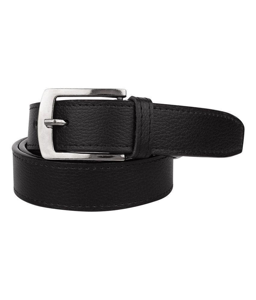 Daller Black Casual Belt for Men