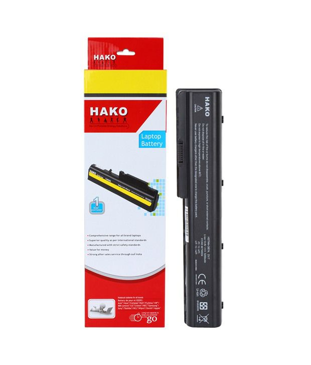 Hako HP Compaq Pavilion DV7-2210tx 6 Cell Laptop Battery