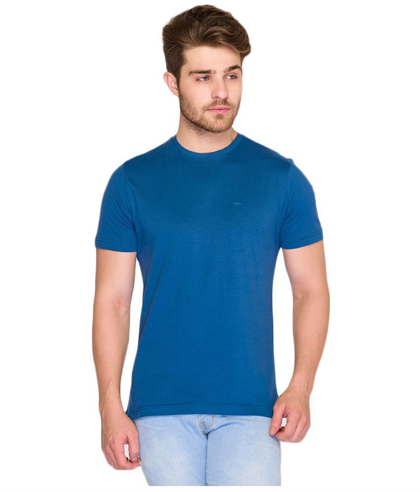 Park Avenue Blue Round T Shirt