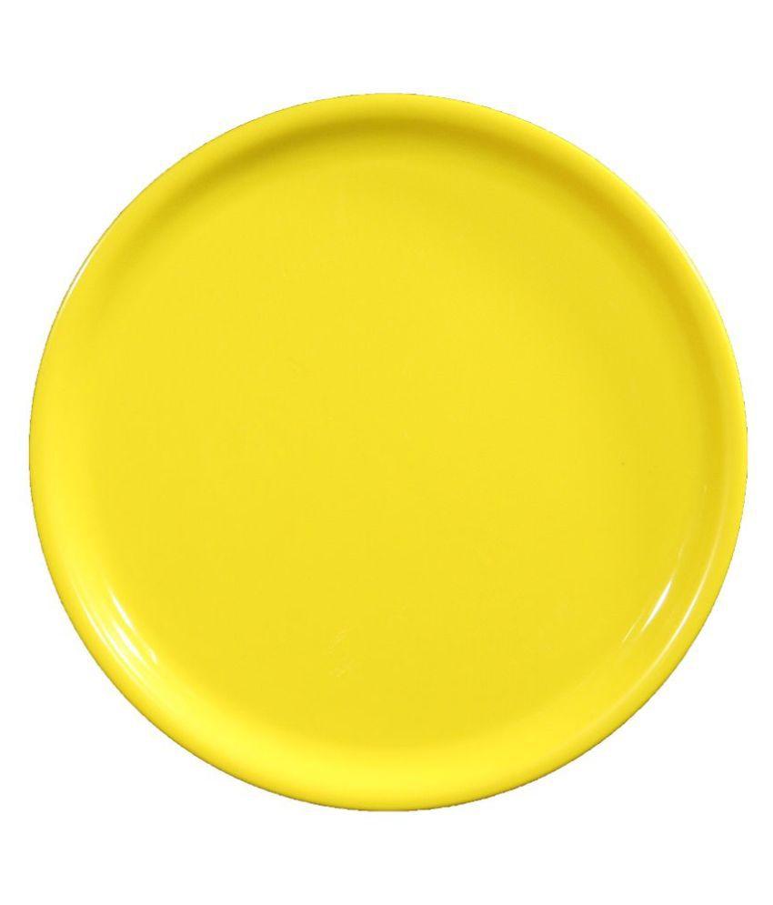 Navacon Yellow Polypropylene Plates - Set of 3 ...  sc 1 st  Snapdeal & Navacon Yellow Polypropylene Plates - Set of 3: Buy Online at Best ...