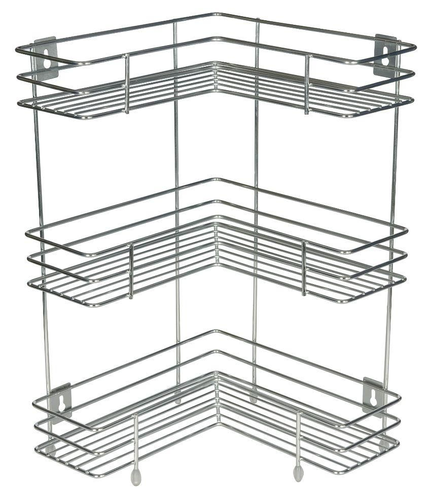 kcl silver stainless steel kitchen rack