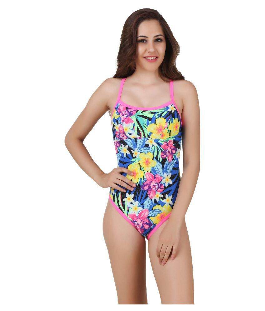 TYR AMAZONIA Multicolor Polyster Swimsuit/ Swimming Costume