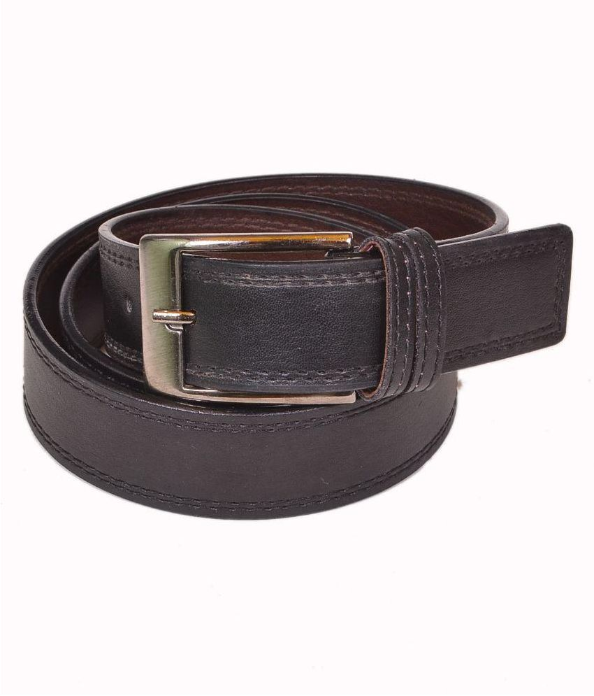 Daller Black Non Leather Belt for Men