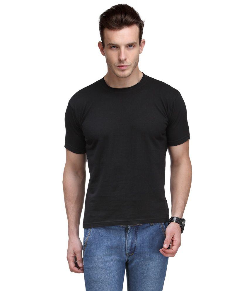 Scott International Black Round T Shirt