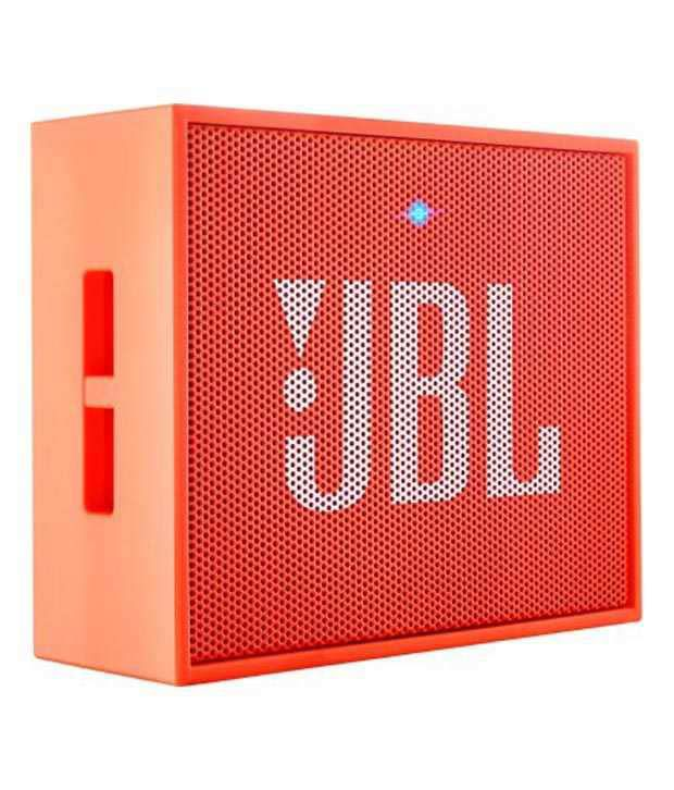 JBL Go Wireless Portable Speaker - Orange
