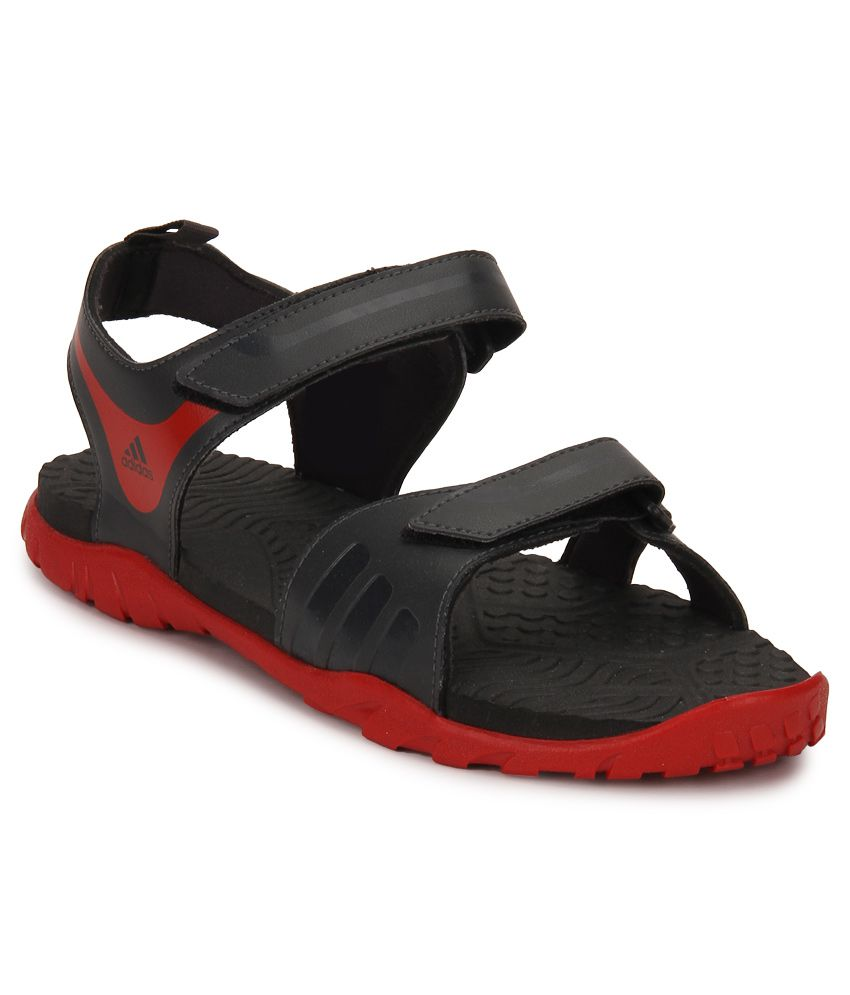 c8fd58c1ca3f Adidas Escape 2.0 Black Floater Sandals - Buy Adidas Escape 2.0 Black  Floater Sandals Online at Best Prices in India on Snapdeal