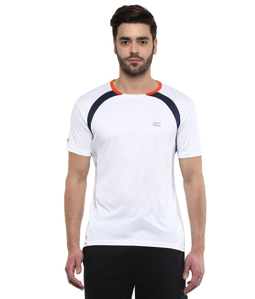 Ajile By Pantaloons White Round Neck T Shirt