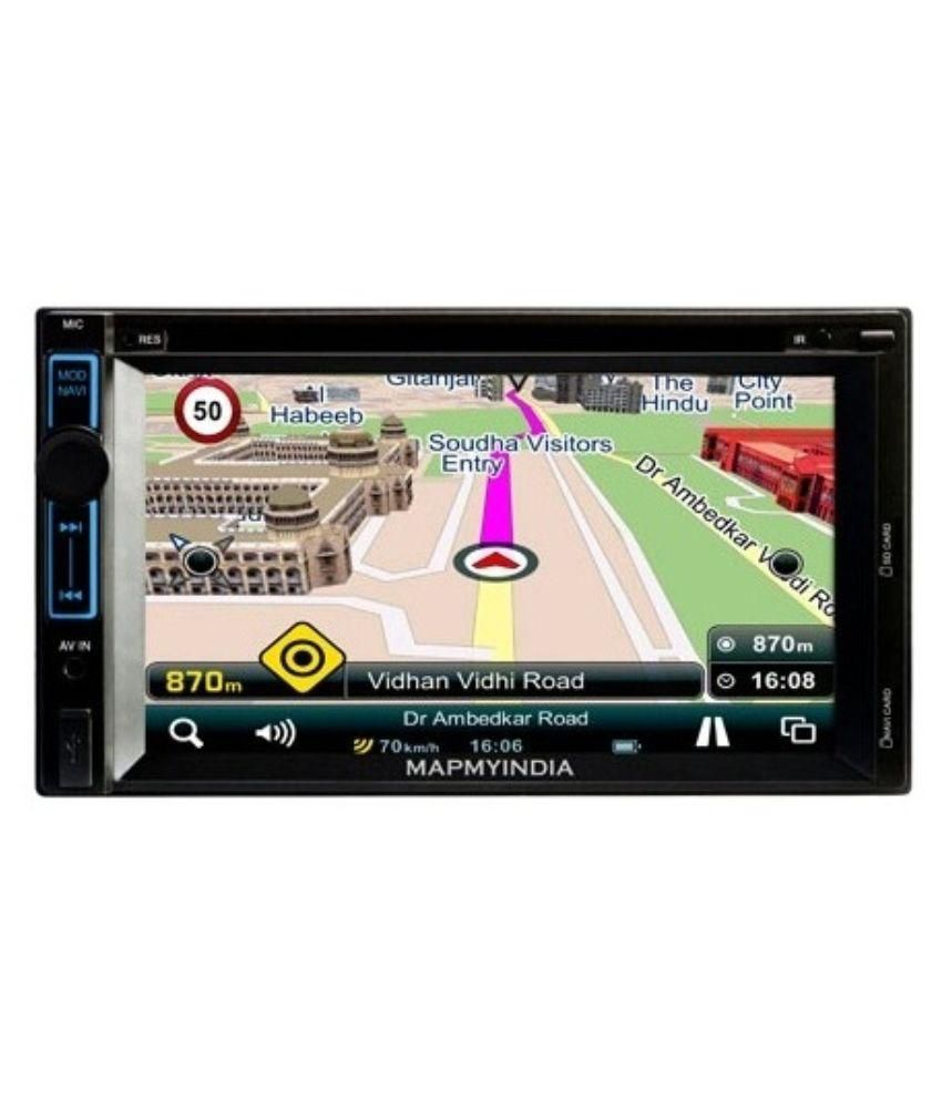 Double din car stereo with navigation and bluetooth in india 6