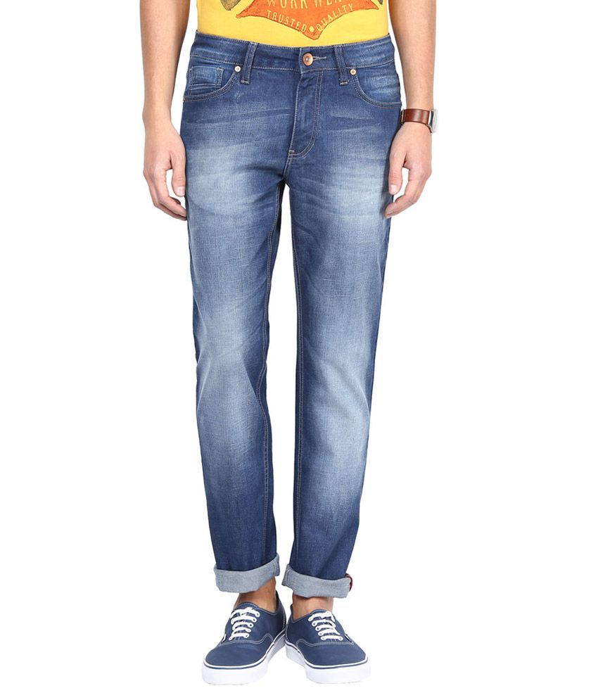 SF Jeans By Pantaloons Blue Regular Fit Jeans