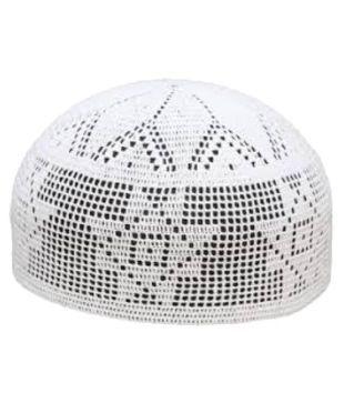 b8cbf1ca5e993 Alif White Muslim Cap: Buy Online at Low Price in India - Snapdeal