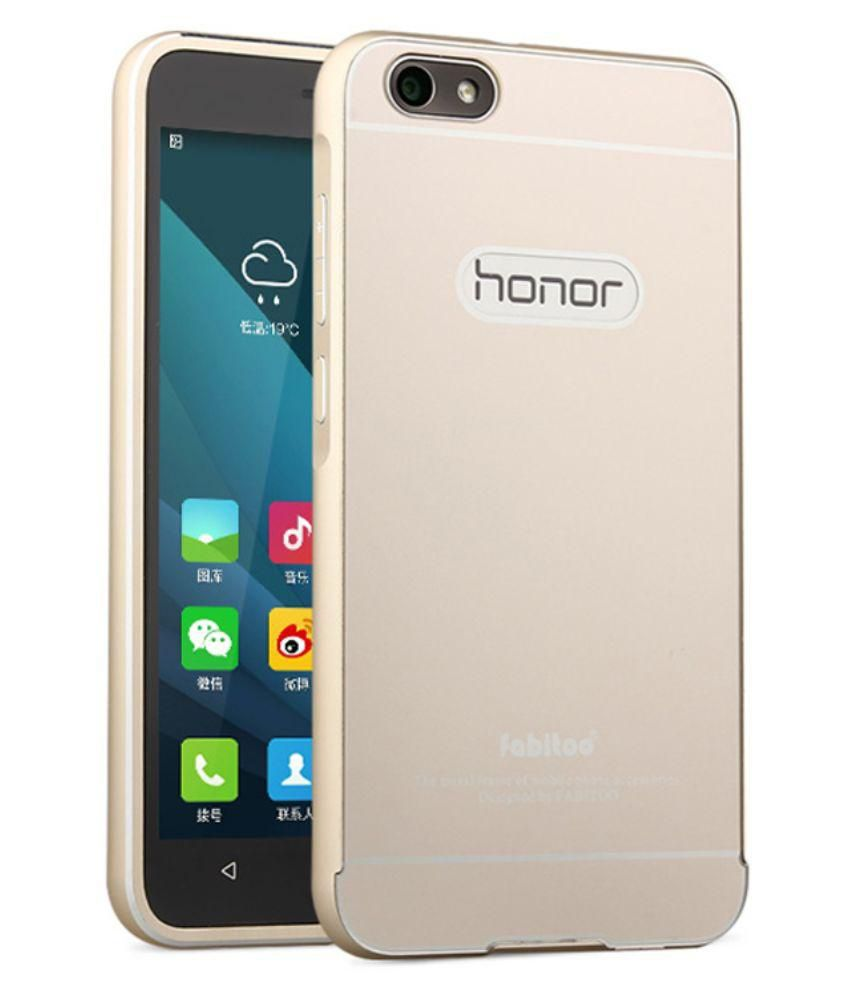Huawei Honor 4x Aluminum Case & Back Cover by Aeoss 2 in 1