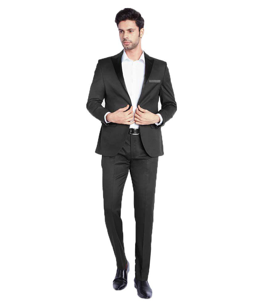 Park Avenue Black Formal Suits
