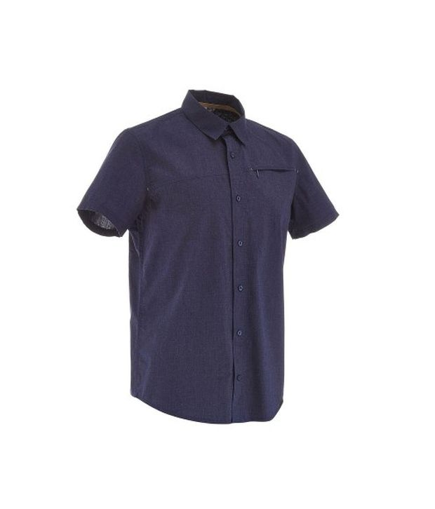 QUECHUA Arpenaz 50 Men's Hiking Shirt