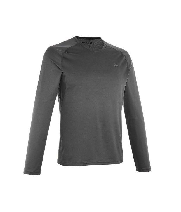 QUECHUA Techfresh 100 Men's Long Sleeve T-Shirt