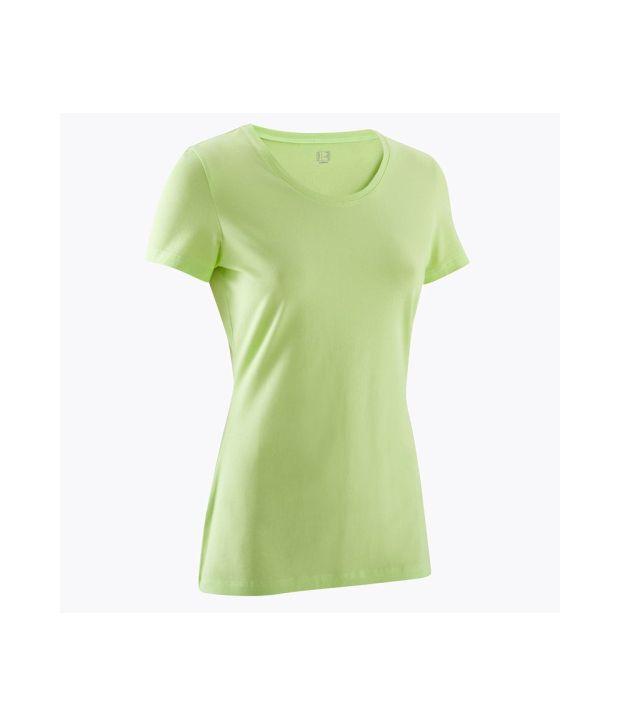 DOMYOS Basic Women's Yoga T-Shirt