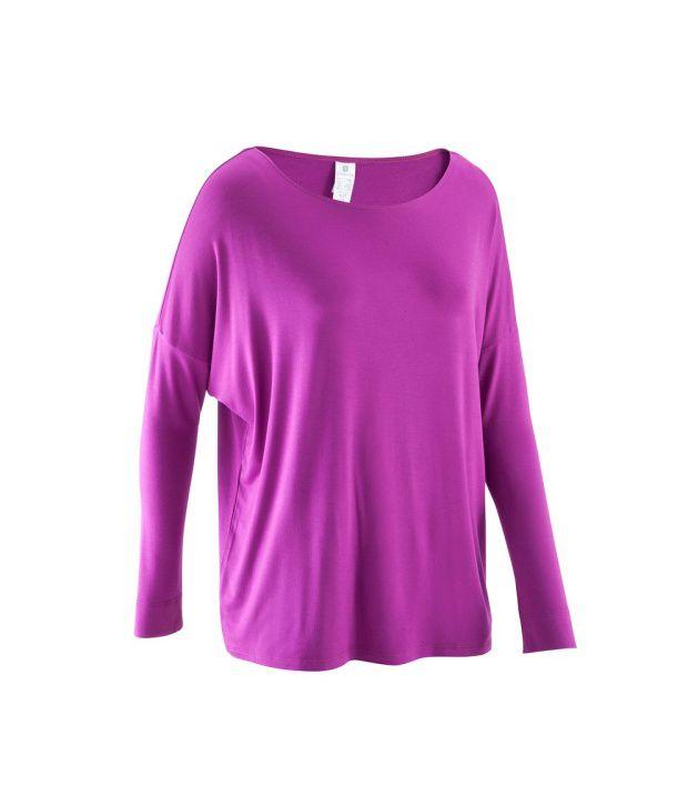 DOMYOS DM Girls Dance Full-Sleeve T-Shirt