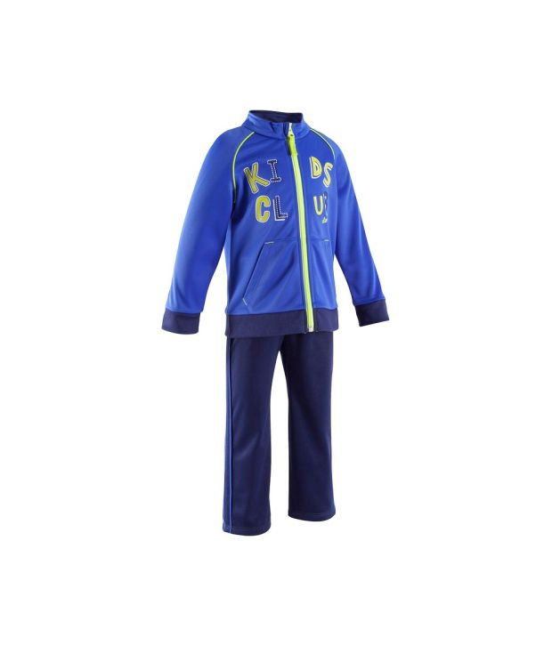 DOMYOS Poly Kids Fitness Tracksuit