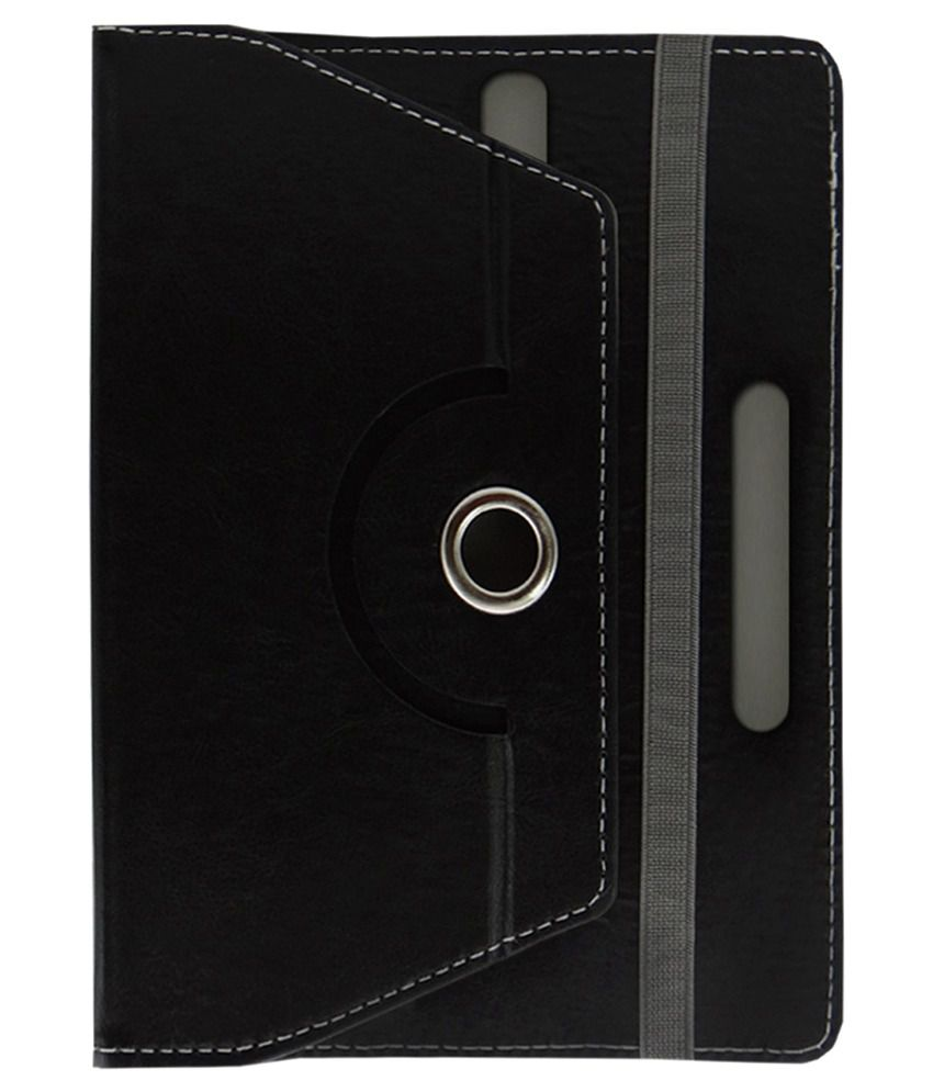 ACM Rotating Flip Cover for Amosta Eduone 7d2a - Black