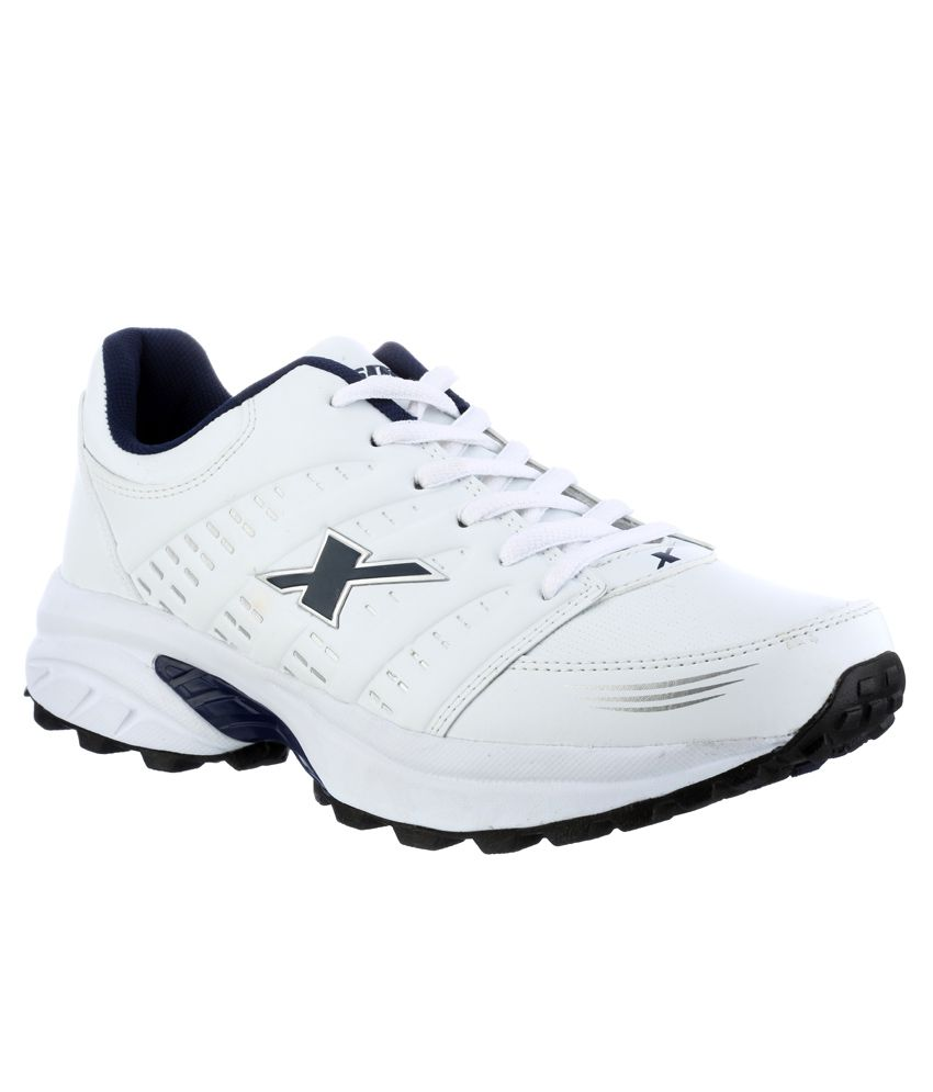 new concept d4447 28af5 Sparx White Running Sports Shoes